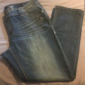 Seven7 luxe distressed jeans